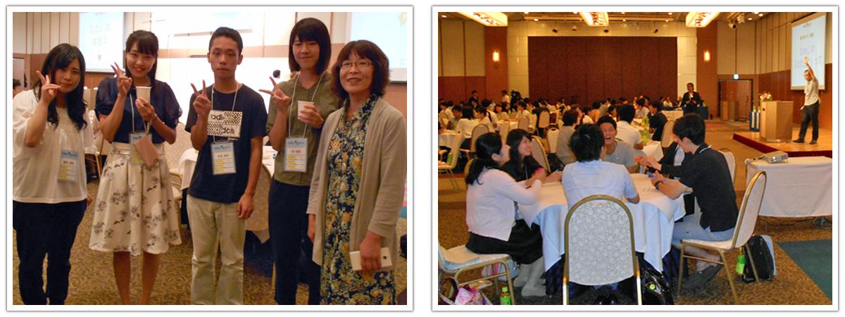 姫路獨協大学 ひめじ創生カフェに参加 こども保健学科からも参加しました。
