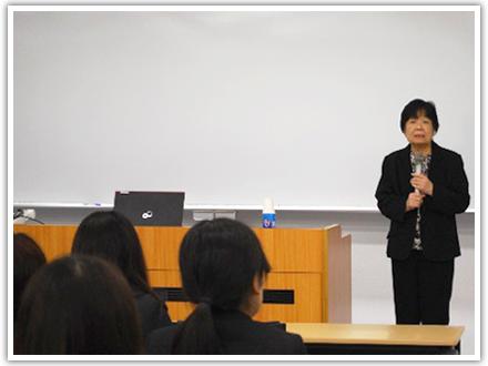 姫路獨協大学 看護学部平成28年度マナー講座