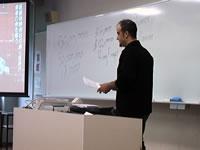 ジョナサン・アレレス先生の講義風景2