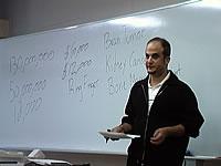 ジョナサン・アレレス先生の講義風景1