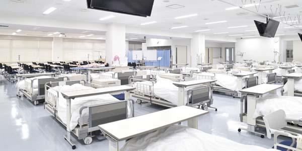 姫路獨協大学 看護学部棟 成人・老年看護実習室