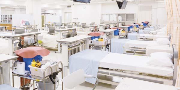 姫路獨協大学 看護学部棟 基礎看護実習室