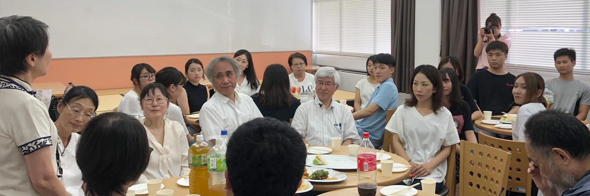 【報告】交換留学生送別会を開催しました。