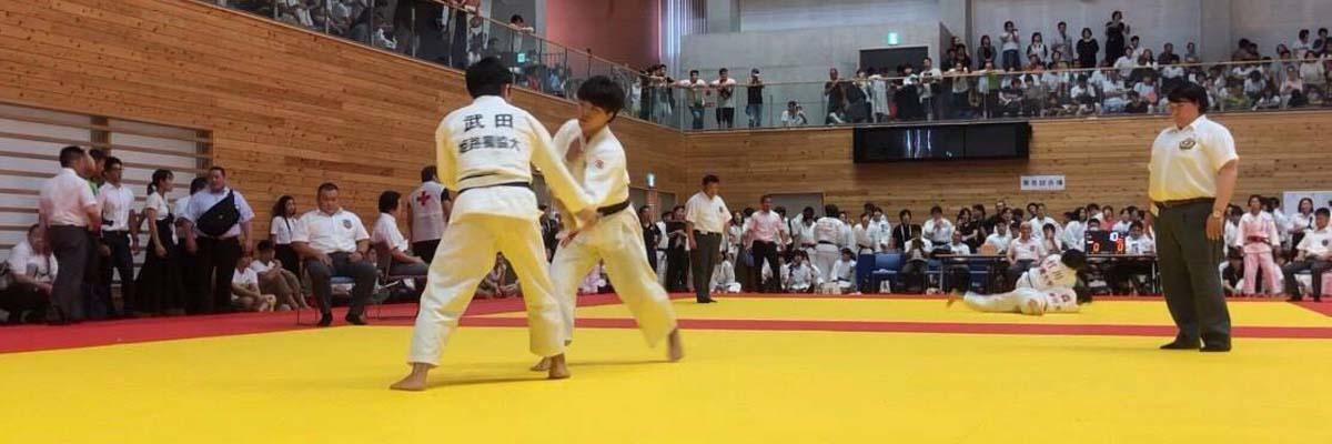 柔道部 武田祐典さん(人間社会学群1年)が2019年度関西学生柔道体重別選手権大会第3位入賞